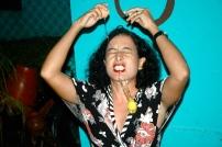Sandra Vivas performance piece at Fresh Milk