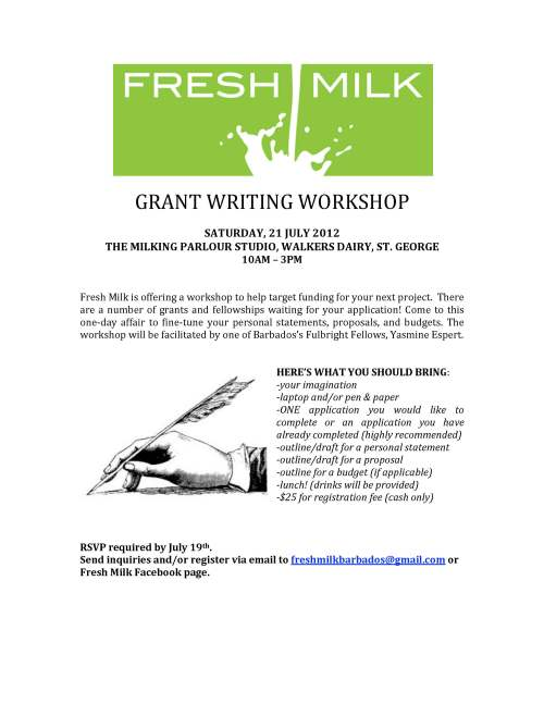 Grant writing conference