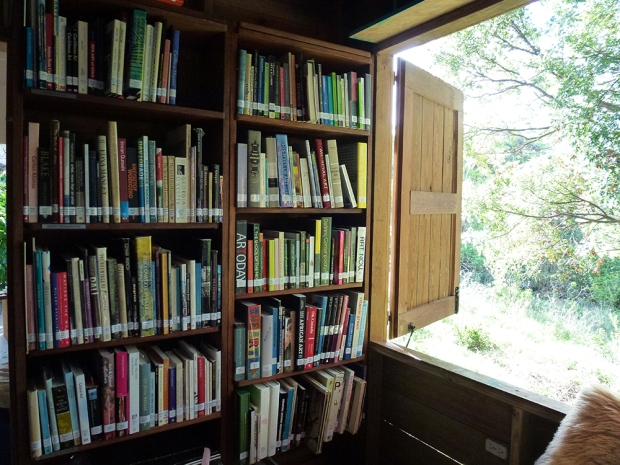 The Colleen Lewis Reading Room. Photo by Annalee Davis.