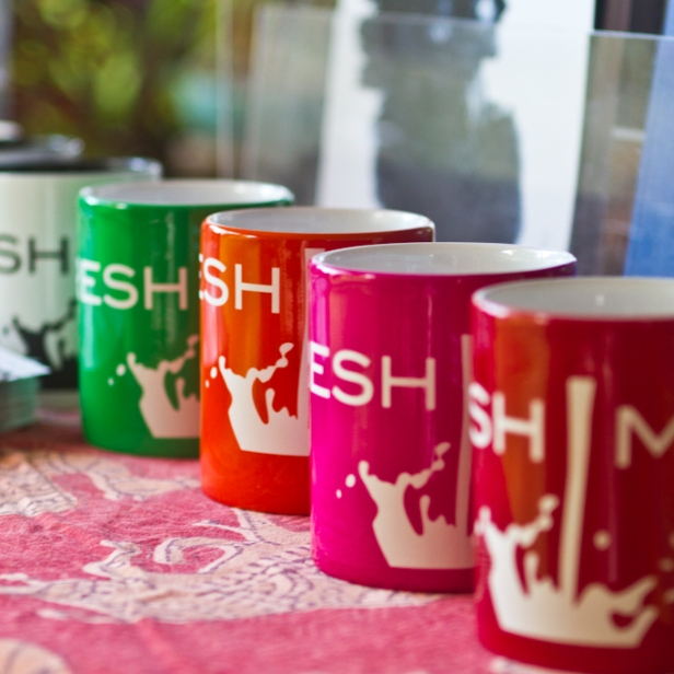 FRESH MILK mugs on sale