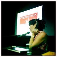 Annalee Davis presenting