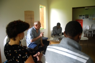 Day 1 of the UNESCO Workshop led by Andrew Senior