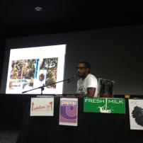 John Cox presenting