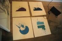 Alicia Alleyne's paintings