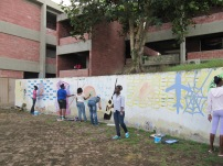 Getting started on the mural workshop