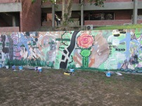 Mural painting project at BCC