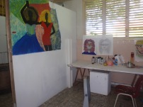 A studio space at the IBB