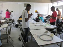 BCC Associate Degree students taking part in the workshop