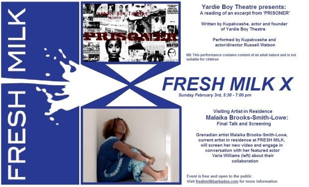 FM X flyer