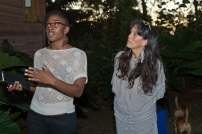 Greandian artist/activist Malaika Brooks-Smith-Lowe and founder/director of Fresh Milk Annalee Davis