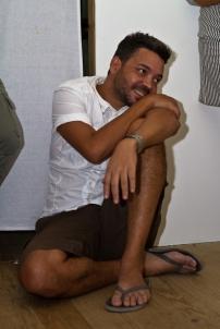 Barbadian artist Ewan Atkinson