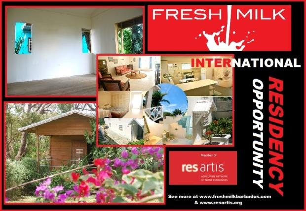 FRESH MILK's International Residency Announcement