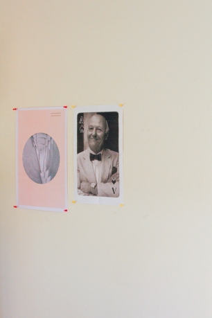 Part of Mark's current project up on the studio walls