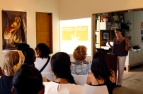 Annalee Davis introducing FRESH MILK