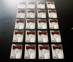 20 Bear Stearns playing cards, which were placed in the pockets on the vest