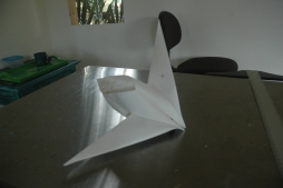 Mark's experimentation with origami