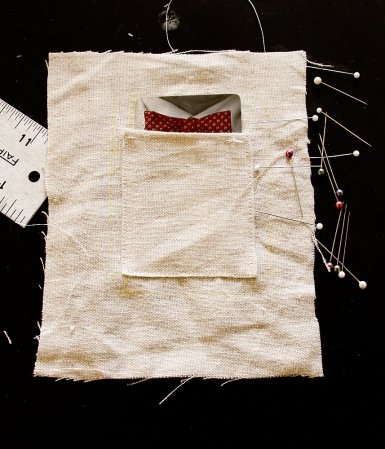 Vest pocket - one of 20, each packet containing a Bear Stearns playing card