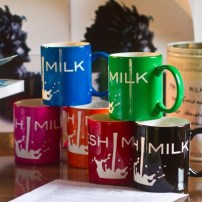 Fresh Milk Mugs - Photograph by Dondré Trotman