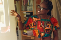 Sheena Rose speaking about her work
