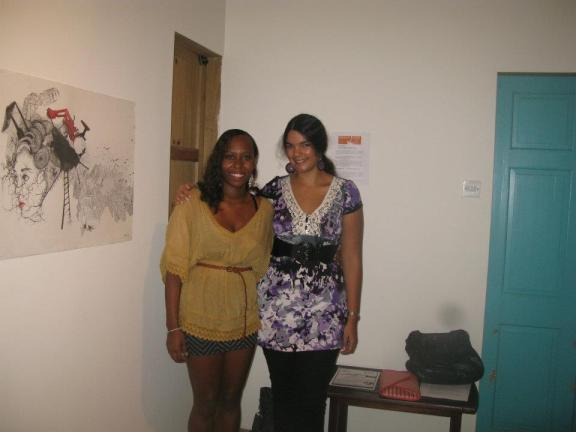 Katherine and Simone