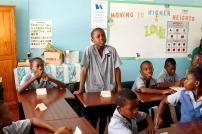Students at Workman's Primary School
