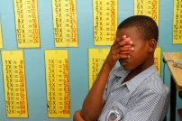 Student at Workman's Primary School