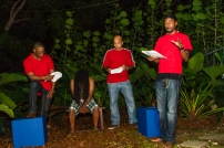 A reading from 'The Brightest Red,' written by Matthew Kupakwashe Murrell