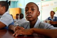 Student at Workman's Primary School