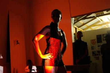 Shea Rose performing