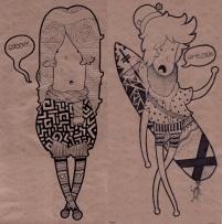 Evan Avery - Miniis drawing
