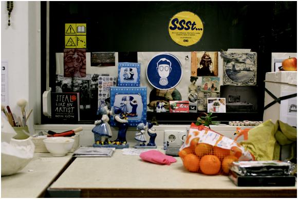 Studio space snapshot 2012