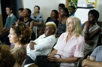 Audience members at FRESH MILK XIII. Photograph by Mark King.