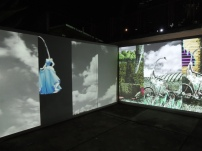 Versia Harris, Video installation at Alice Yard, Trinidad