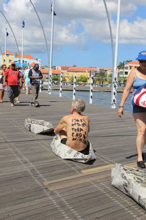 Nick Whittle, Queen Emma Bridge, Curacao, 2013