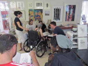 Studio visit with Alison Chapman-Andrews