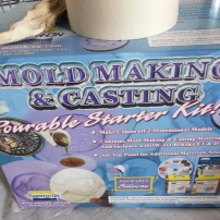 Mold making and casting kit.