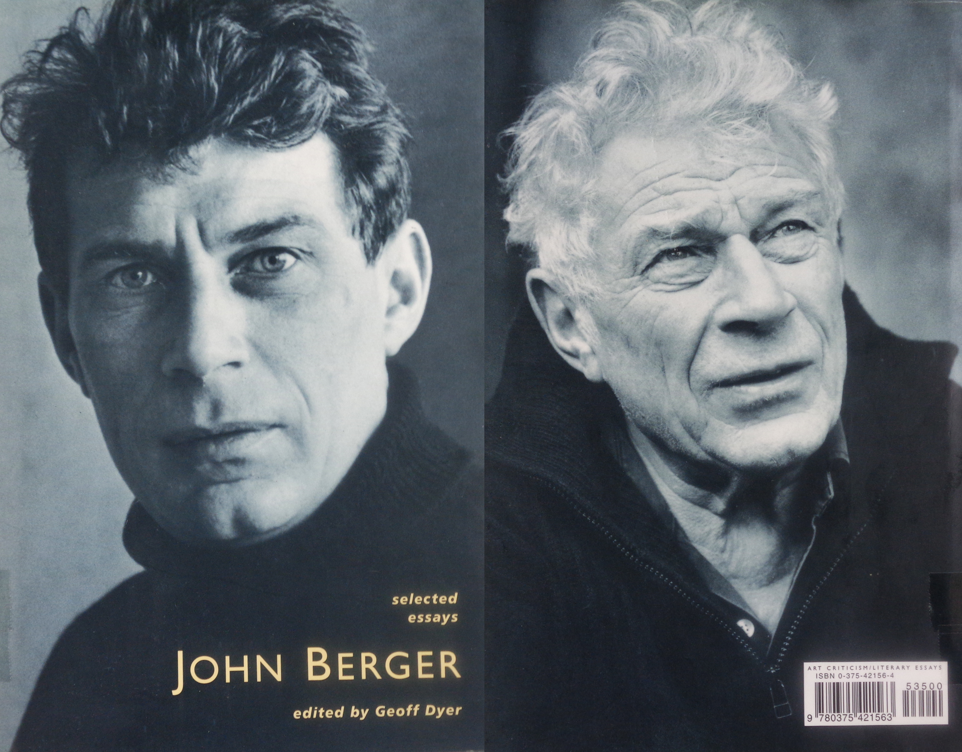 selected essays john berger edited geoff dyer In the words of geoff dyer (who edited the indispensable selected essays, a 600 -page selection of writing on all manner of subjects), his body of work embodies a concern for 'the enduring mystery of great art and the lived experience of the oppressed' the range of subjects explored by berger's work is.