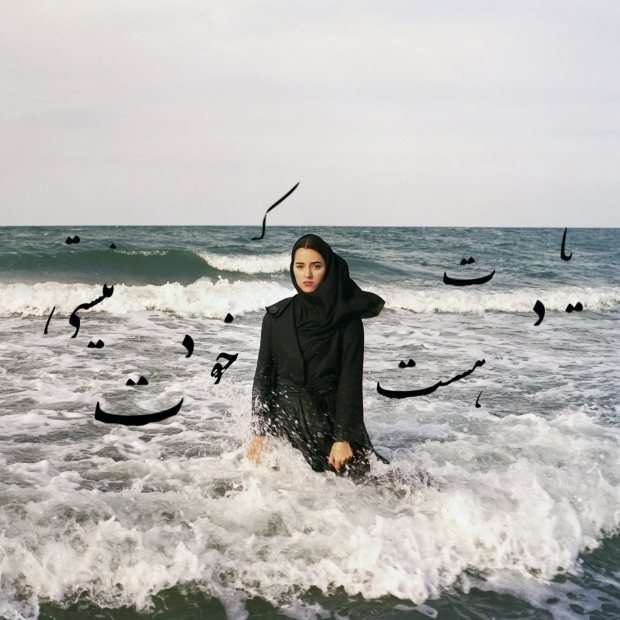ewsha Tavakolian, Don't Forget This Is Not You (for Sahar Lotfi), Chromogenic print mounted on aluminum, 2010.