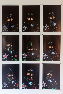 Ewan Atkinson's Starman: Nine States, 2009