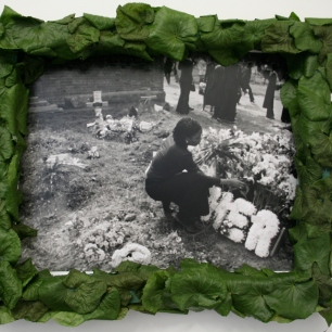 Lauren Craig, Her Story, Hand Developed Photography + Sculpture, 70cm x 40cm (2010)