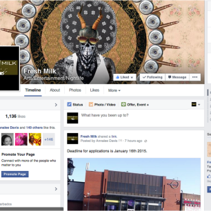 The Fresh Milk Facebook page