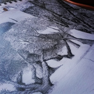 'At the Side of Something' in process