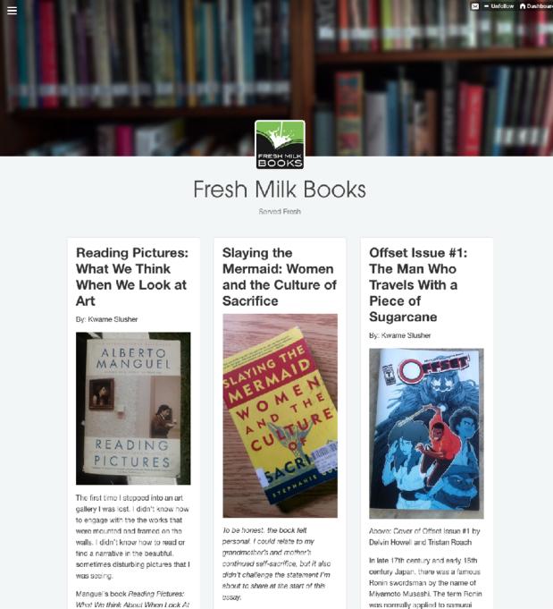 Fresh Milk Books