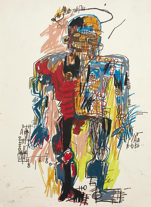 Jean-Michel Basquiat, Self-Portrait, 1982