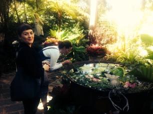 Tiffany Boyle and Holly Bynoe at Hunte's Gardens