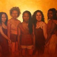 """Jordan Clarke, RISE, oil on canvas 48"""" x 72"""", 2013,"""