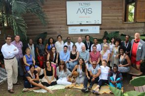 Participants of the Tilting Axis 2015 conference. All photographs by Sammy Davis.