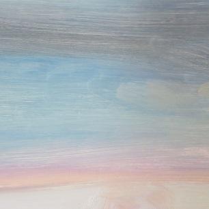 Jordan Clarke's landscape studies.