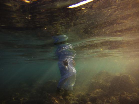 Estabrak Al-Ansari, 'Sayed', Omani's Under Water. Limited Edition Photographic Prints, Stal Gallery, 2015.