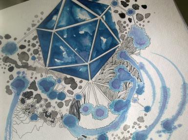 Simone Asia's work in progress.